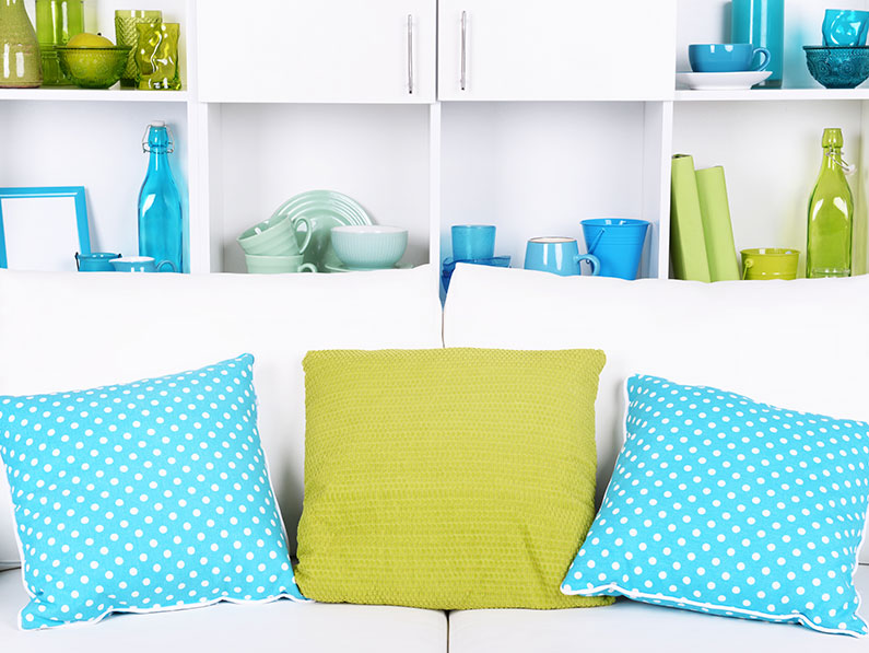 Transform a Room with Colourful Accessories