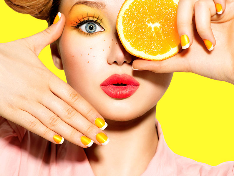 How to Rock the New Citrus Inspired Makeup Trend