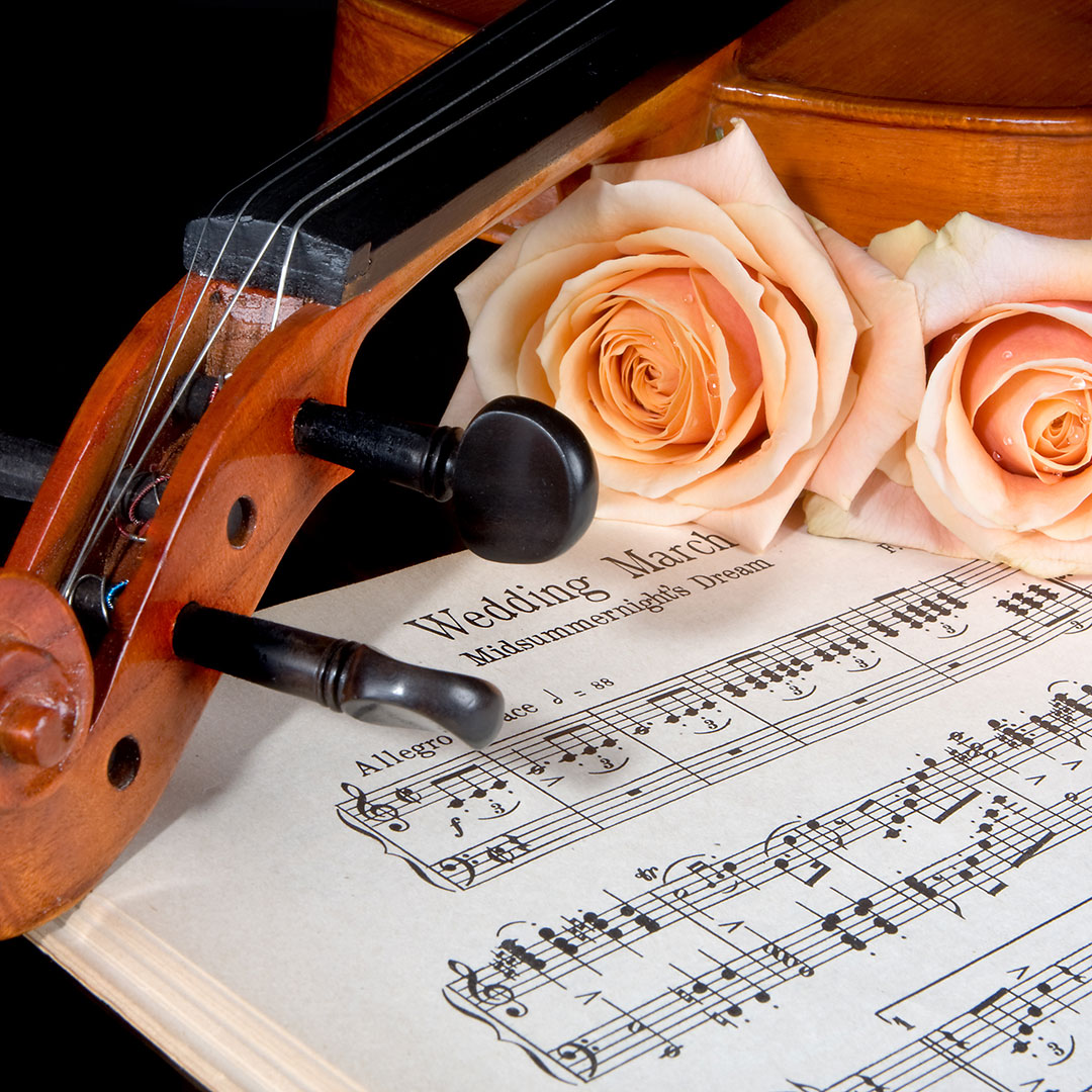 Choosing songs for your wedding ceremony