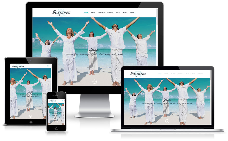 Inspirez - WordPress Divi child theme for yoga instructors